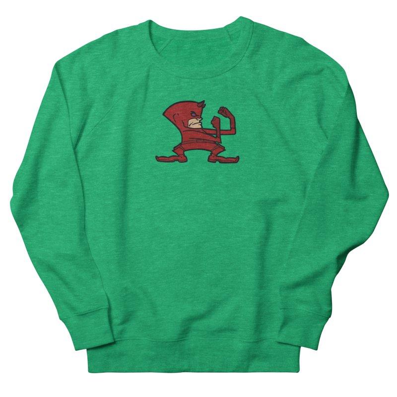 The Blind Fighting Irish Women's French Terry Sweatshirt by Mike Hampton's T-Shirt Shop