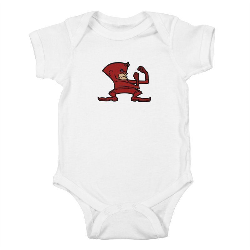 The Blind Fighting Irish Kids Baby Bodysuit by Mike Hampton's T-Shirt Shop