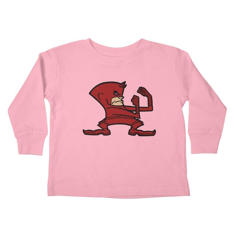 The Blind Fighting Irish Kids Toddler Longsleeve T-Shirt by Mike Hampton's T-Shirt Shop