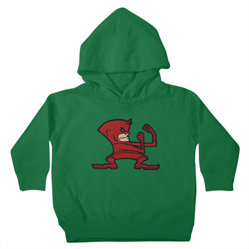 The Blind Fighting Irish Kids Toddler Pullover Hoody by Mike Hampton's T-Shirt Shop
