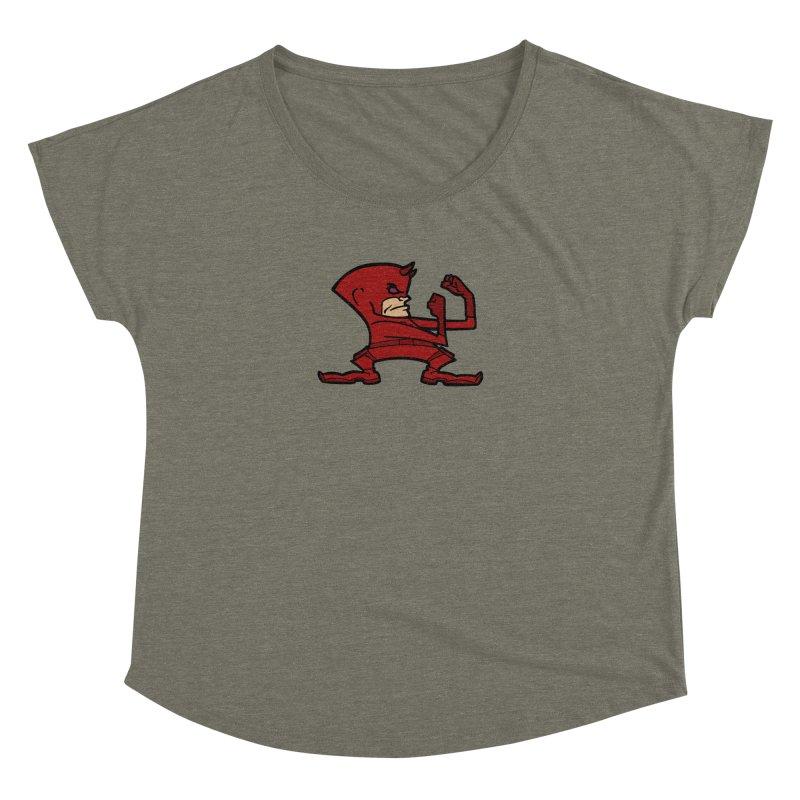 The Blind Fighting Irish Women's Dolman Scoop Neck by Mike Hampton's T-Shirt Shop