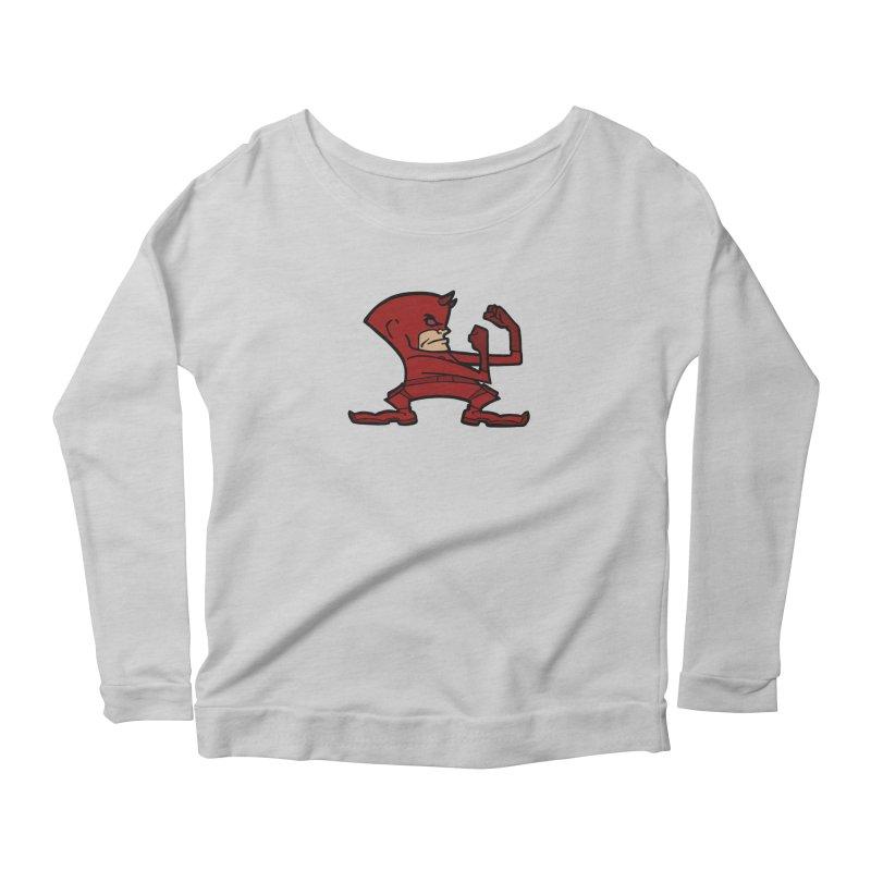 The Blind Fighting Irish Women's Scoop Neck Longsleeve T-Shirt by Mike Hampton's T-Shirt Shop