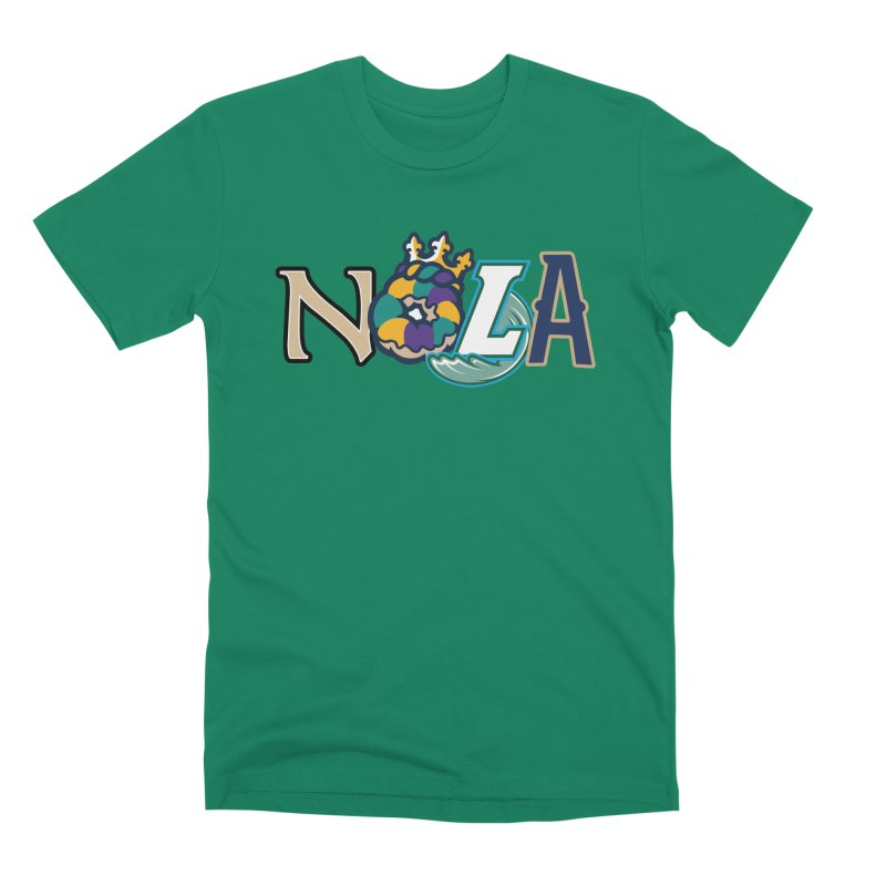All things NOLA Men's Premium T-Shirt by Mike Hampton's T-Shirt Shop