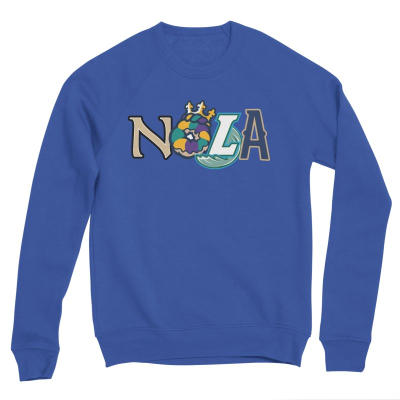 All things NOLA Men's Sponge Fleece Sweatshirt by Mike Hampton's T-Shirt Shop