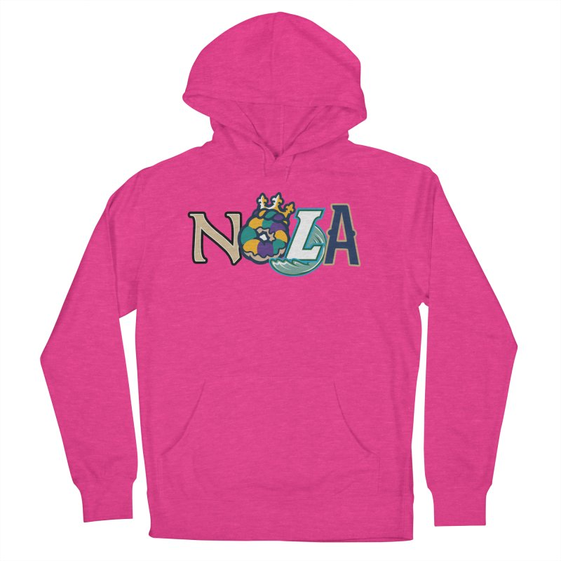 All things NOLA Women's French Terry Pullover Hoody by Mike Hampton's T-Shirt Shop