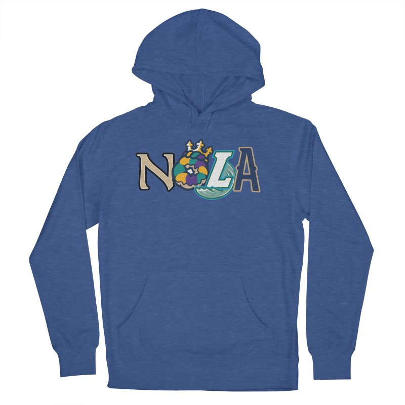 All things NOLA Men's French Terry Pullover Hoody by Mike Hampton's T-Shirt Shop