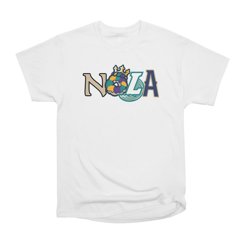 All things NOLA Women's Heavyweight Unisex T-Shirt by Mike Hampton's T-Shirt Shop