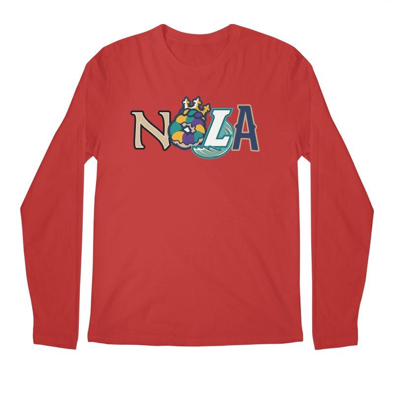 All things NOLA Men's Regular Longsleeve T-Shirt by Mike Hampton's T-Shirt Shop