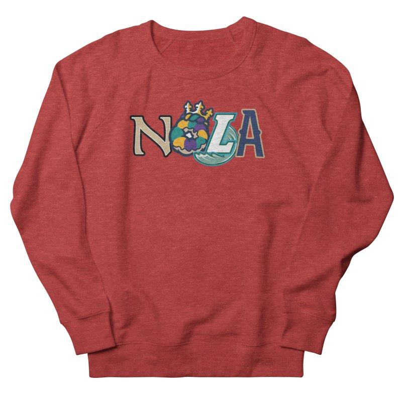 All things NOLA Women's French Terry Sweatshirt by Mike Hampton's T-Shirt Shop