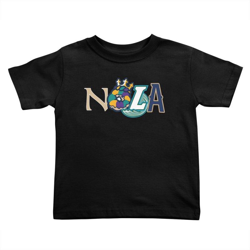 All things NOLA Kids Toddler T-Shirt by Mike Hampton's T-Shirt Shop