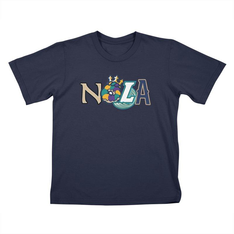All things NOLA Kids T-Shirt by Mike Hampton's T-Shirt Shop
