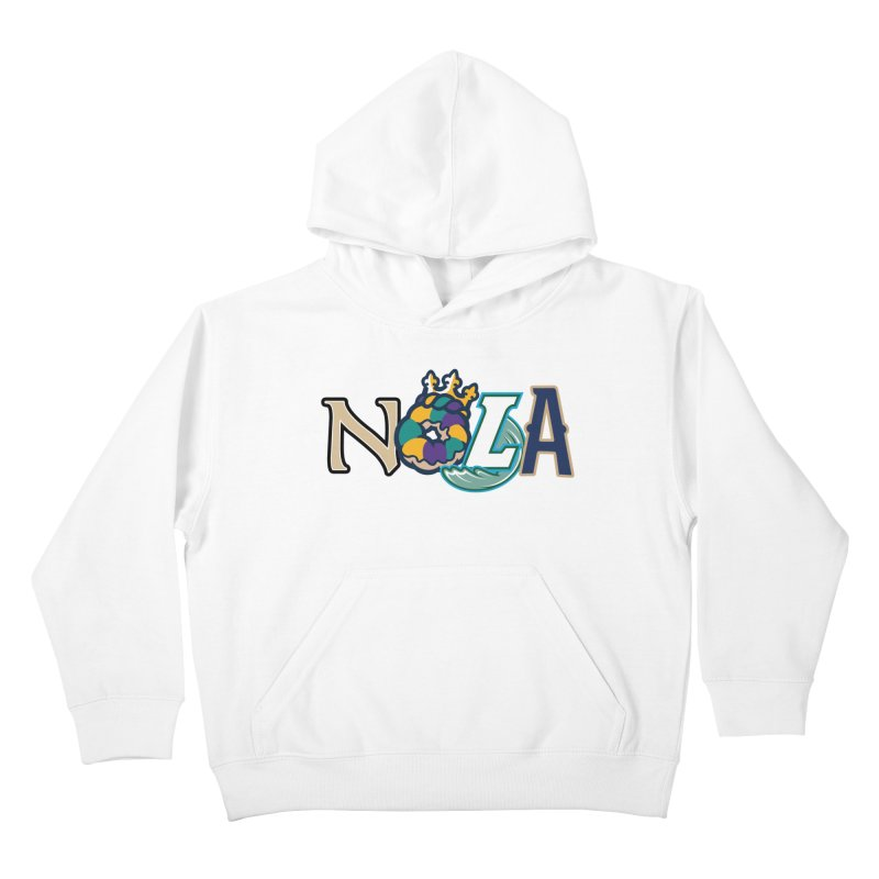 All things NOLA Kids Pullover Hoody by Mike Hampton's T-Shirt Shop