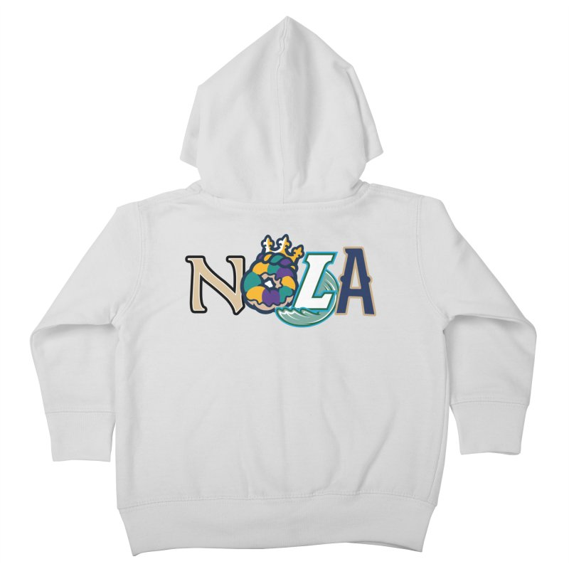 All things NOLA Kids Toddler Zip-Up Hoody by Mike Hampton's T-Shirt Shop
