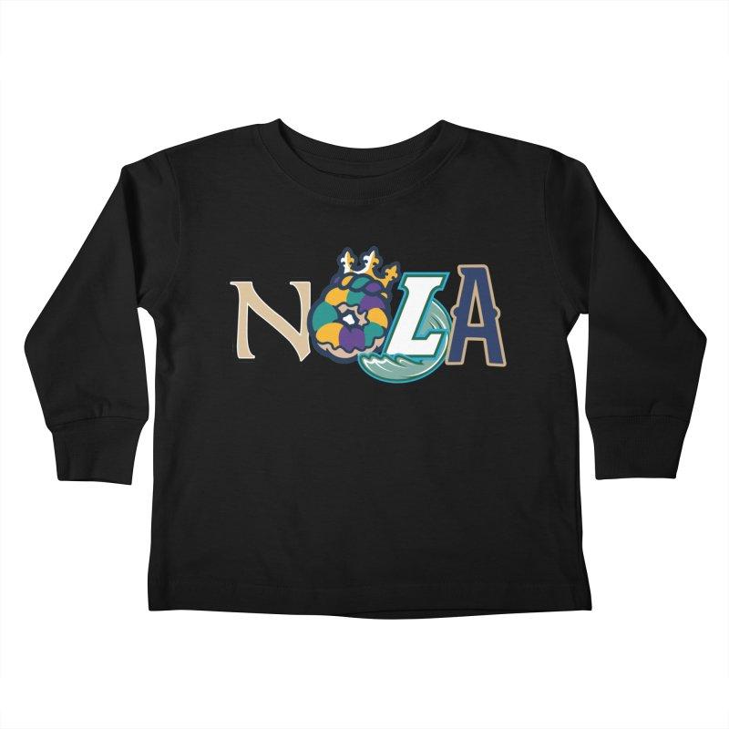 All things NOLA Kids Toddler Longsleeve T-Shirt by Mike Hampton's T-Shirt Shop