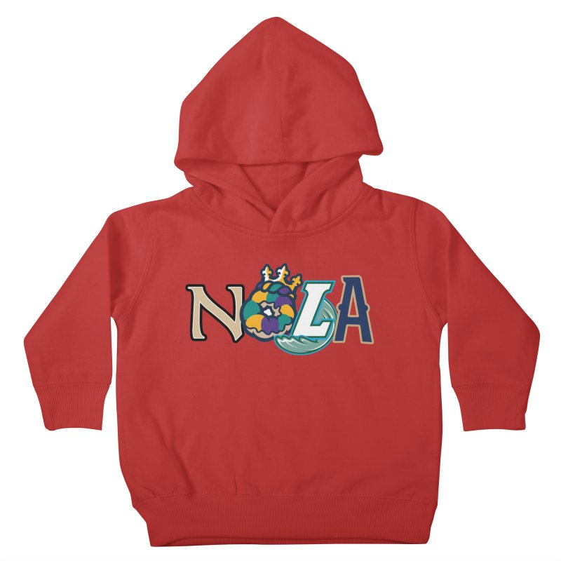 All things NOLA Kids Toddler Pullover Hoody by Mike Hampton's T-Shirt Shop