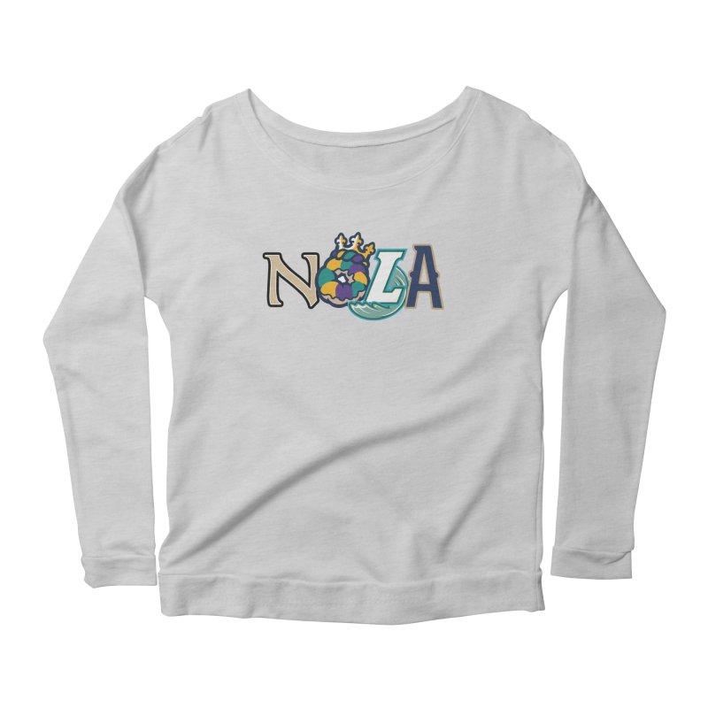 All things NOLA Women's Scoop Neck Longsleeve T-Shirt by Mike Hampton's T-Shirt Shop