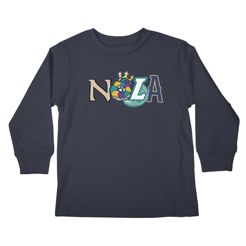 All things NOLA Kids Longsleeve T-Shirt by Mike Hampton's T-Shirt Shop