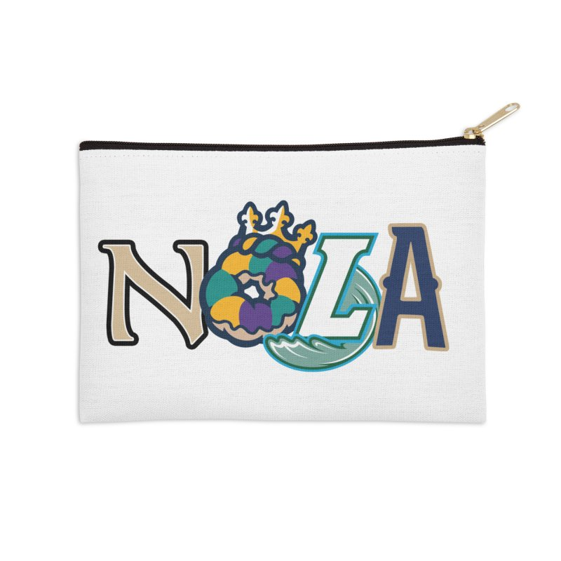 All things NOLA Accessories Zip Pouch by Mike Hampton's T-Shirt Shop