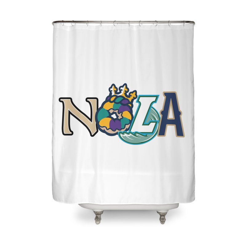 All things NOLA Home Shower Curtain by Mike Hampton's T-Shirt Shop