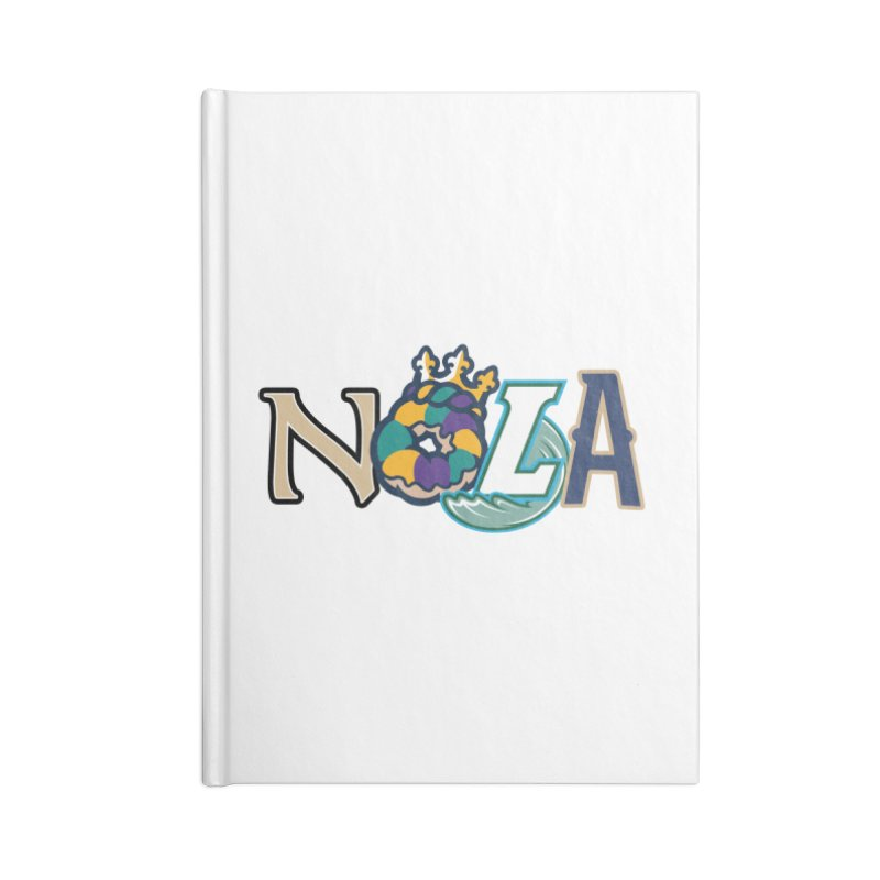 All things NOLA Accessories Notebook by Mike Hampton's T-Shirt Shop