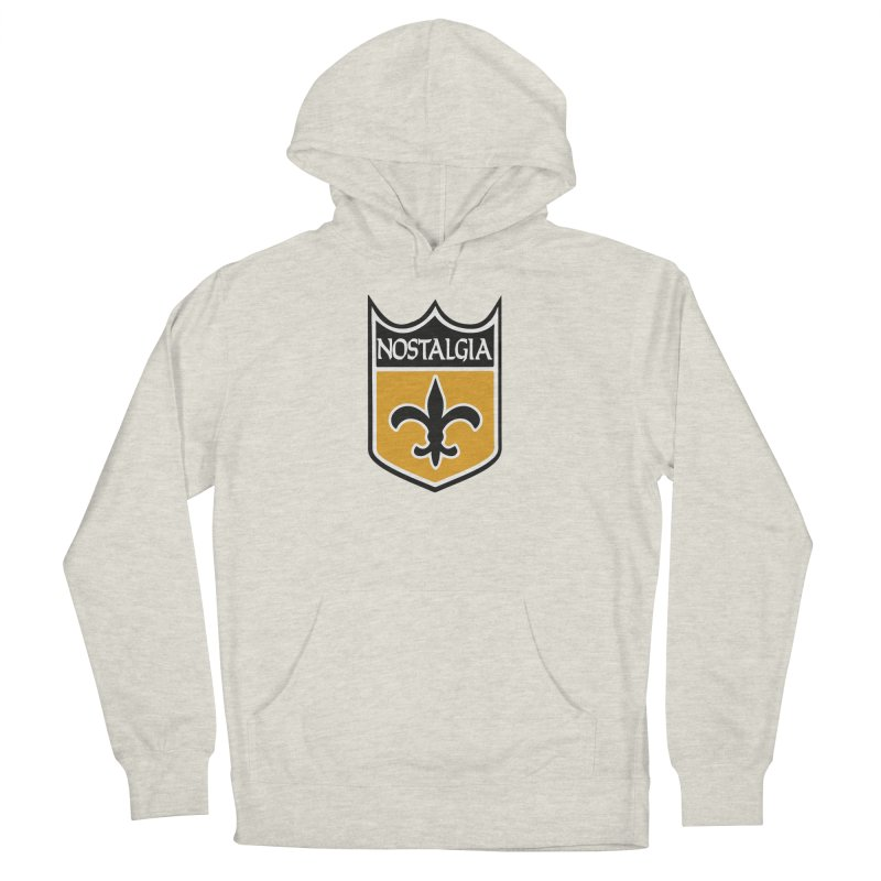 NoLastalgia Men's French Terry Pullover Hoody by Mike Hampton's T-Shirt Shop