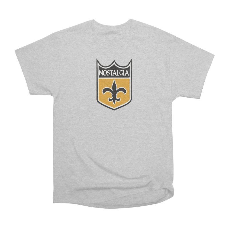 NoLastalgia Men's Heavyweight T-Shirt by Mike Hampton's T-Shirt Shop