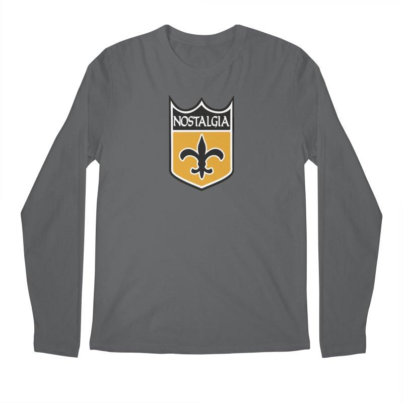 NoLastalgia Men's Regular Longsleeve T-Shirt by Mike Hampton's T-Shirt Shop