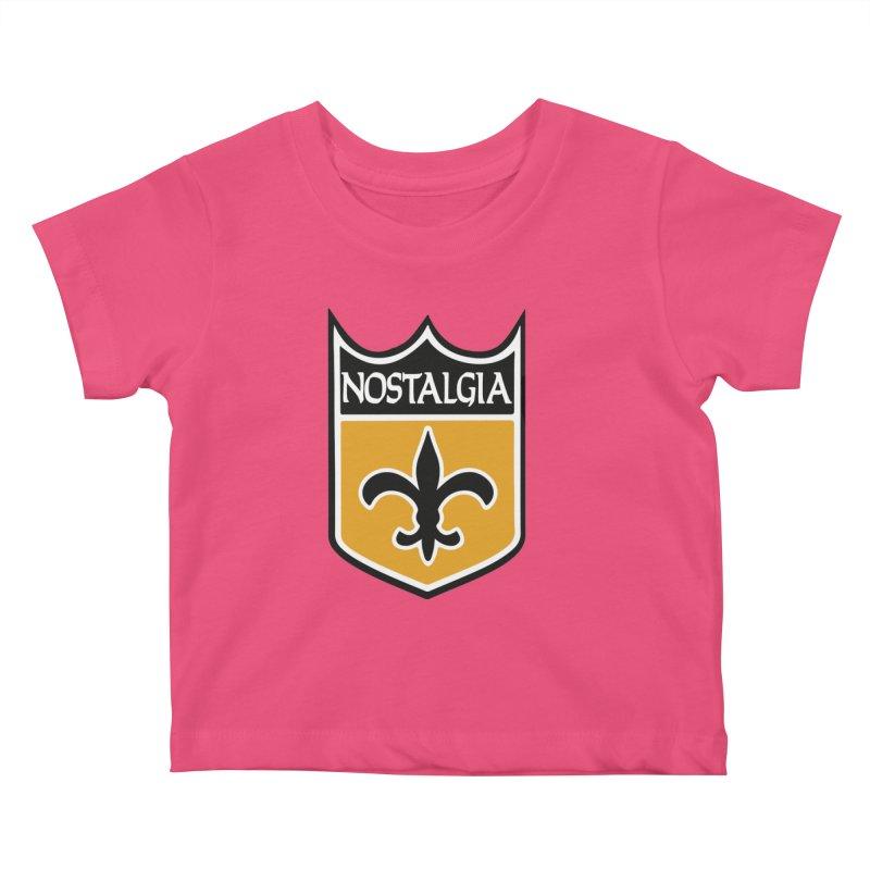 NoLastalgia Kids Baby T-Shirt by Mike Hampton's T-Shirt Shop