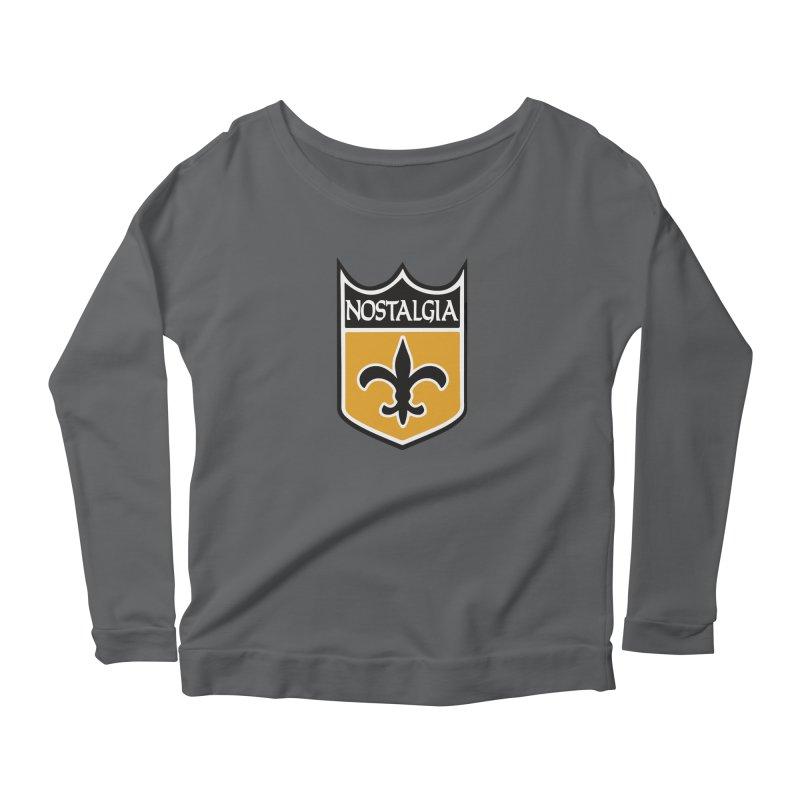 NoLastalgia Women's Scoop Neck Longsleeve T-Shirt by Mike Hampton's T-Shirt Shop