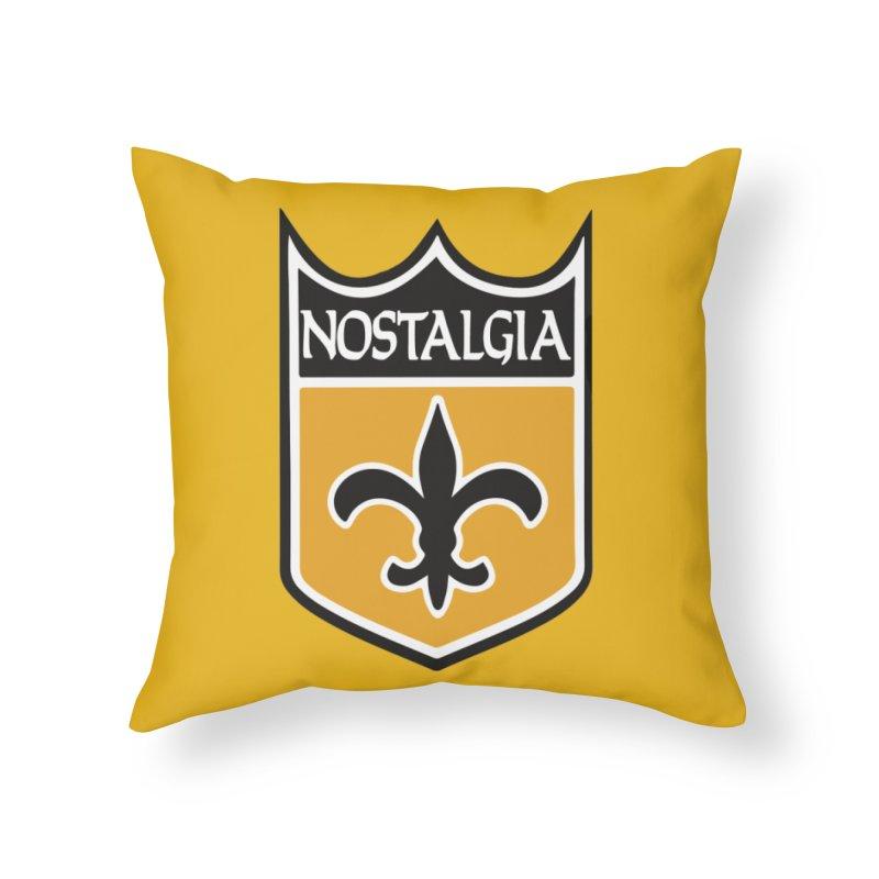 NoLastalgia Home Throw Pillow by Mike Hampton's T-Shirt Shop