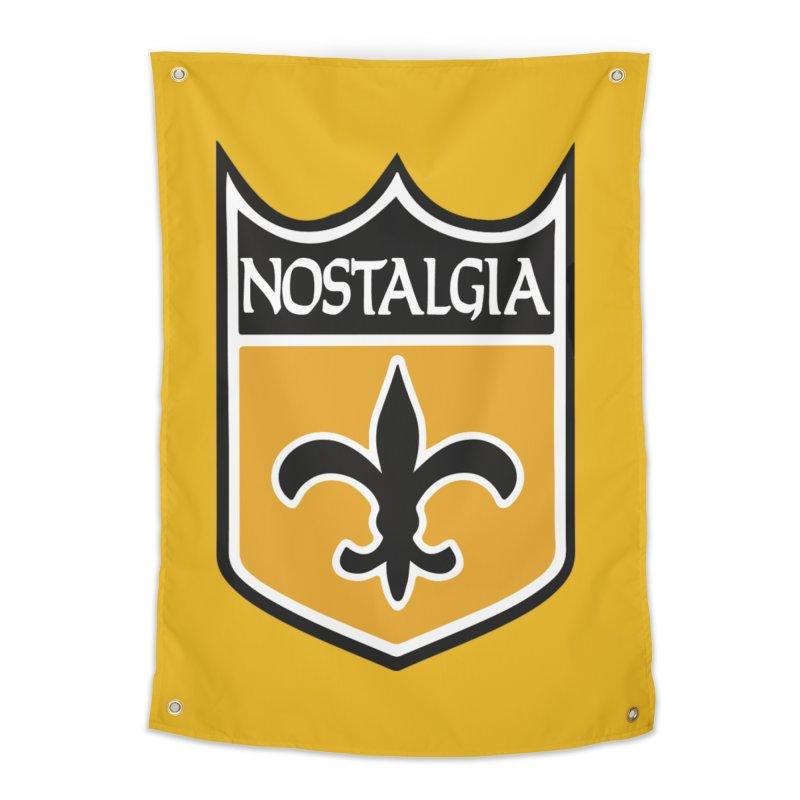 NoLastalgia Home Tapestry by Mike Hampton's T-Shirt Shop