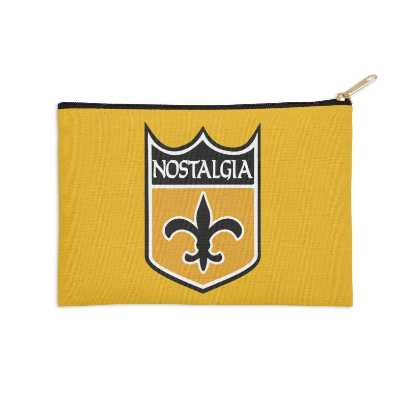 NoLastalgia Accessories Zip Pouch by Mike Hampton's T-Shirt Shop