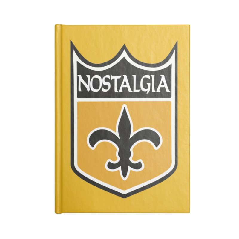 NoLastalgia Accessories Notebook by Mike Hampton's T-Shirt Shop