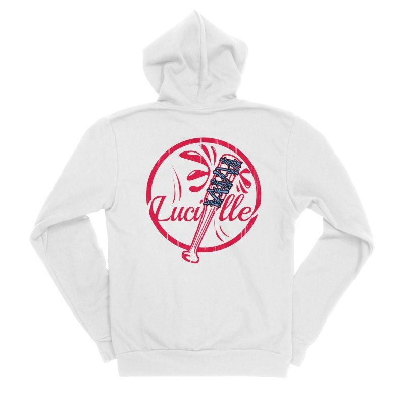 Lucille Women's Sponge Fleece Zip-Up Hoody by Mike Hampton's T-Shirt Shop