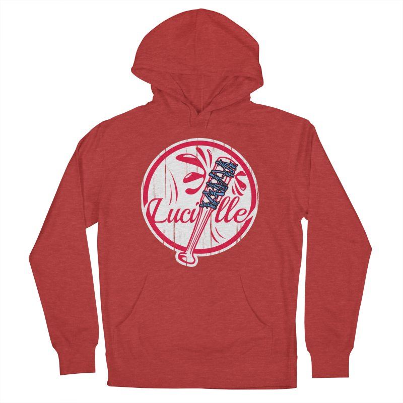 Lucille Men's French Terry Pullover Hoody by Mike Hampton's T-Shirt Shop