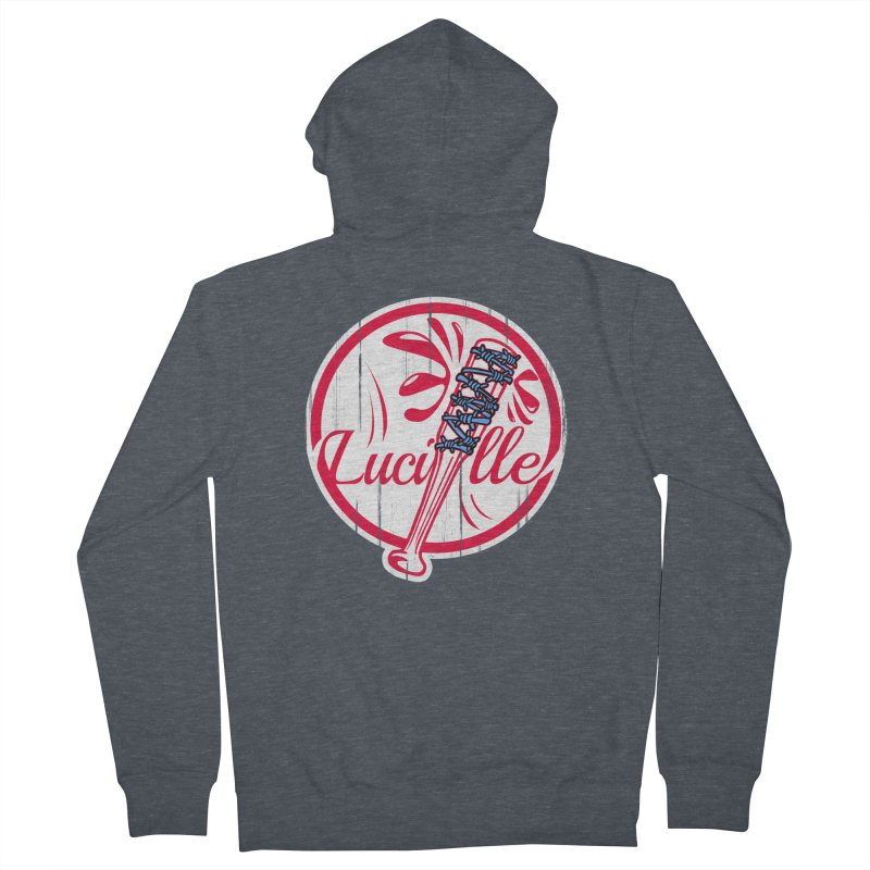 Lucille Women's French Terry Zip-Up Hoody by Mike Hampton's T-Shirt Shop
