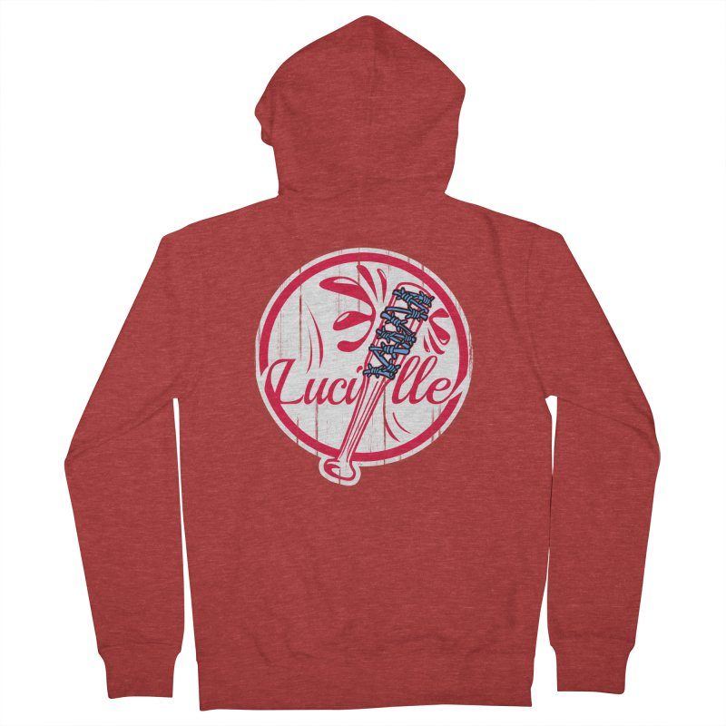 Lucille Men's French Terry Zip-Up Hoody by Mike Hampton's T-Shirt Shop