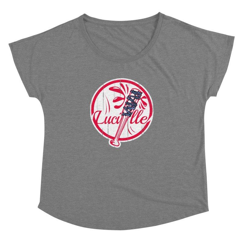 Lucille Women's Dolman Scoop Neck by Mike Hampton's T-Shirt Shop