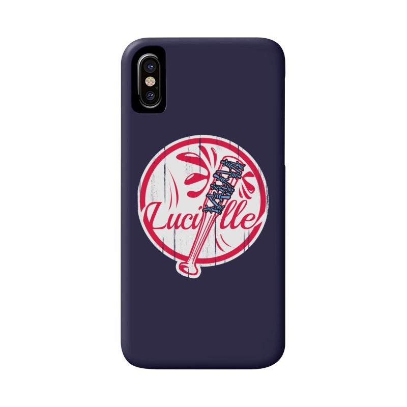 Lucille Accessories Phone Case by Mike Hampton's T-Shirt Shop