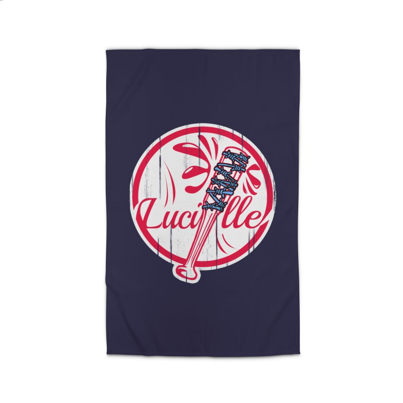Lucille Home Rug by Mike Hampton's T-Shirt Shop