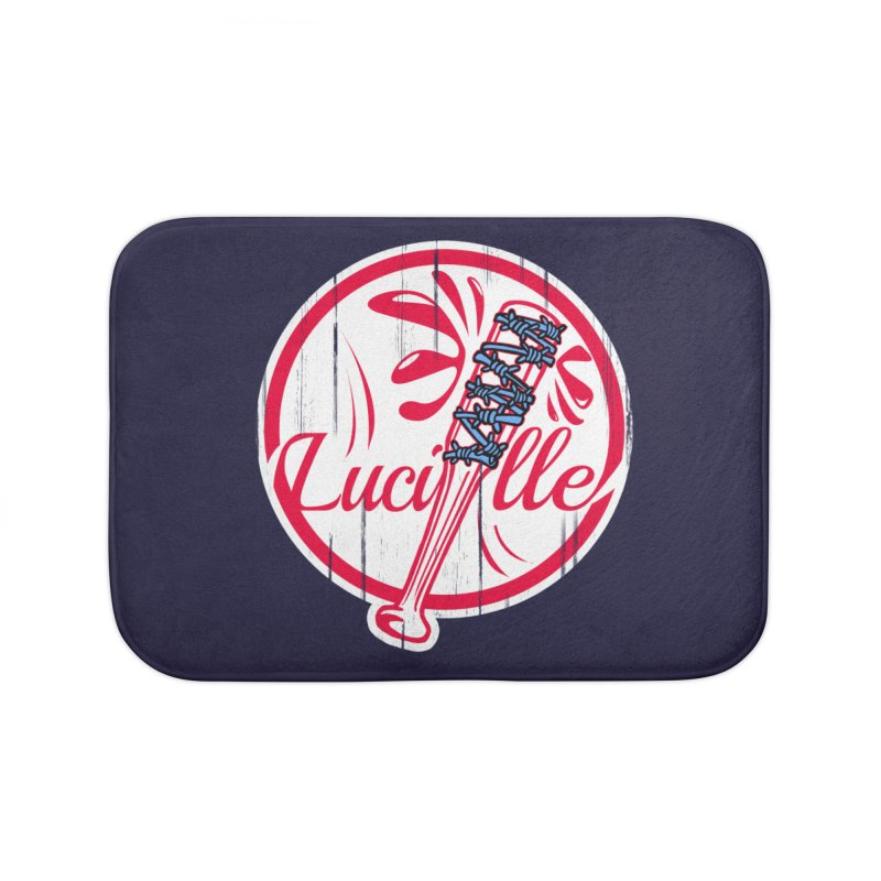 Lucille Home Bath Mat by Mike Hampton's T-Shirt Shop