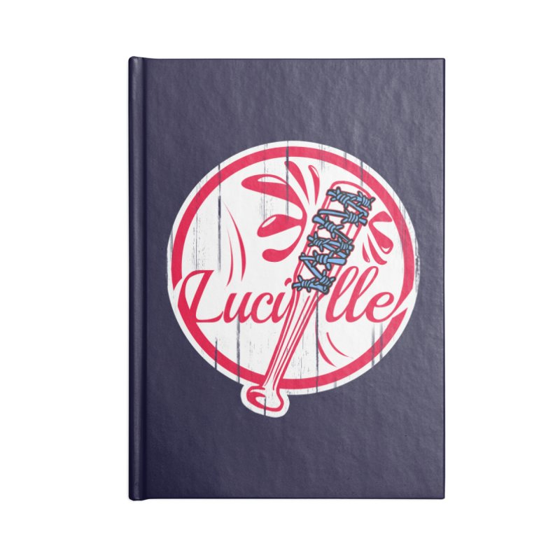 Lucille Accessories Notebook by Mike Hampton's T-Shirt Shop