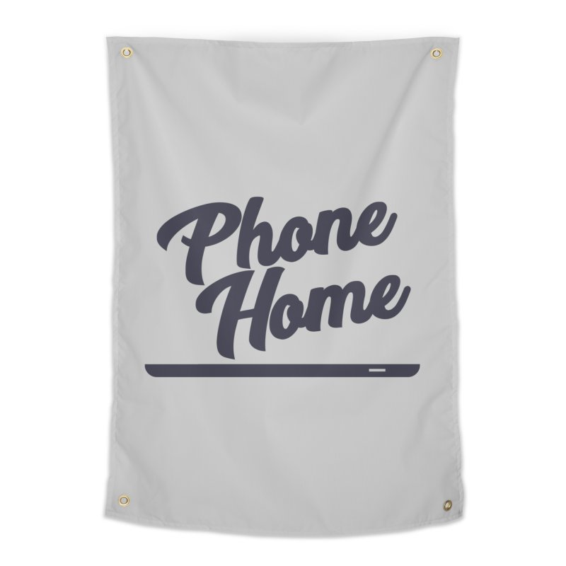 Phone Home Home Tapestry by Mike Hampton's T-Shirt Shop