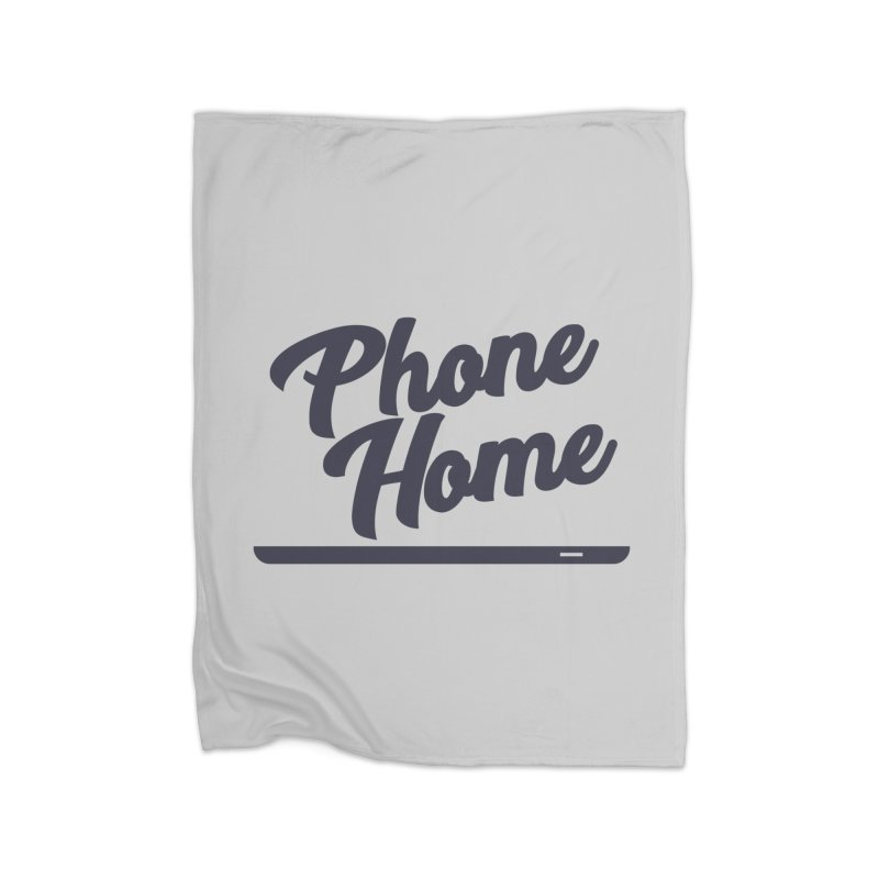 Phone Home Home Blanket by Mike Hampton's T-Shirt Shop