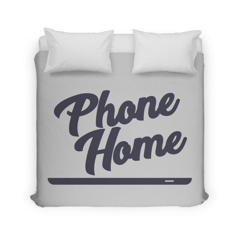 Phone Home Home Duvet by Mike Hampton's T-Shirt Shop