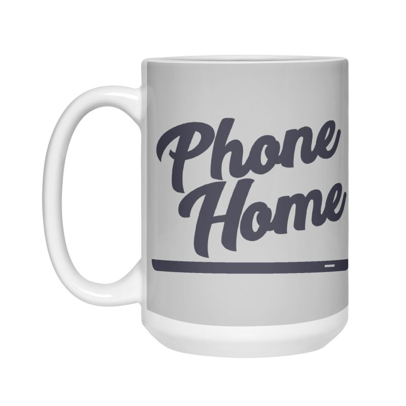 Phone Home Accessories Mug by Mike Hampton's T-Shirt Shop