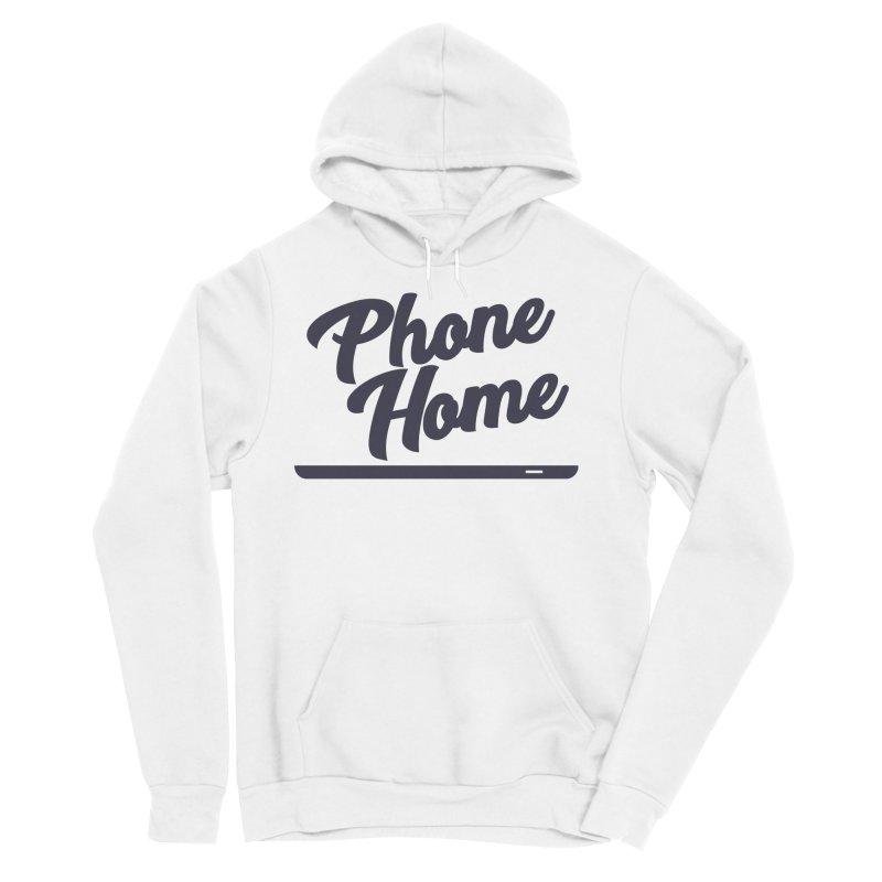 Phone Home Men's Sponge Fleece Pullover Hoody by Mike Hampton's T-Shirt Shop