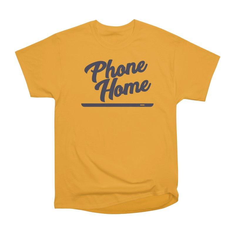 Phone Home Men's Heavyweight T-Shirt by Mike Hampton's T-Shirt Shop