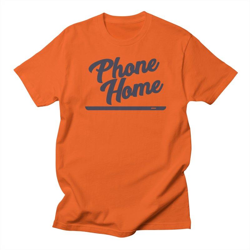 Phone Home Men's T-Shirt by Mike Hampton's T-Shirt Shop