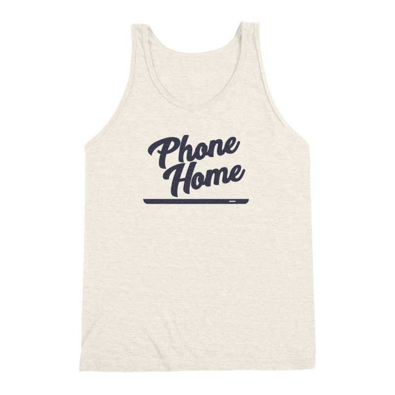 Phone Home Men's Triblend Tank by Mike Hampton's T-Shirt Shop